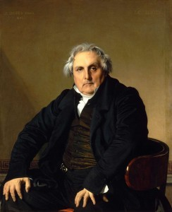 Retrato del señor Bertin (1832) del Museo del Louvre